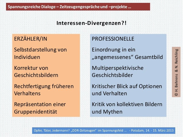 Interessen-Divergenzen?!ERZÄHLER/IN                 PROFESSIONELLEiNSelbstdarstellung von       Einordnung in ein         ...