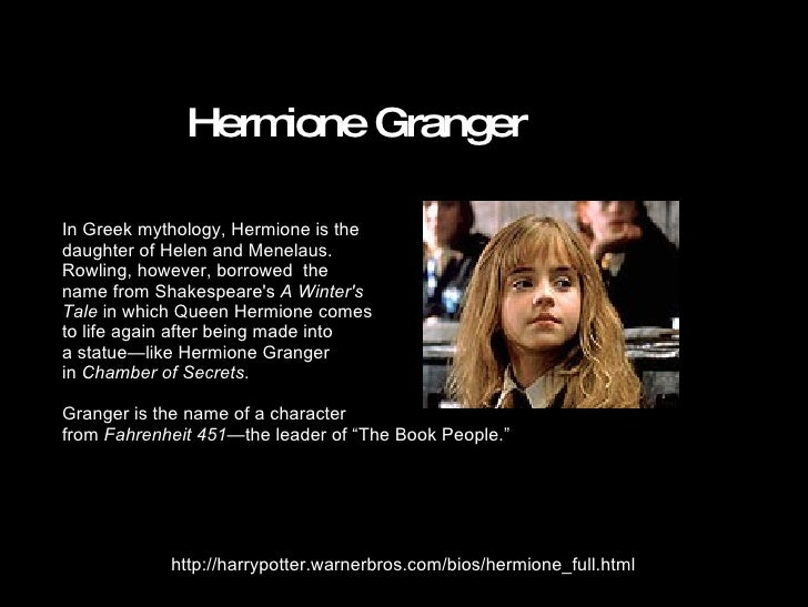 allusions in harry potter