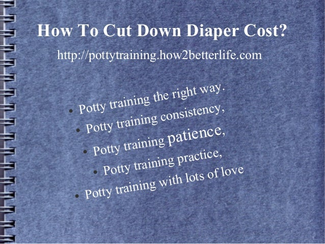 Potty training in 3 days weird trick