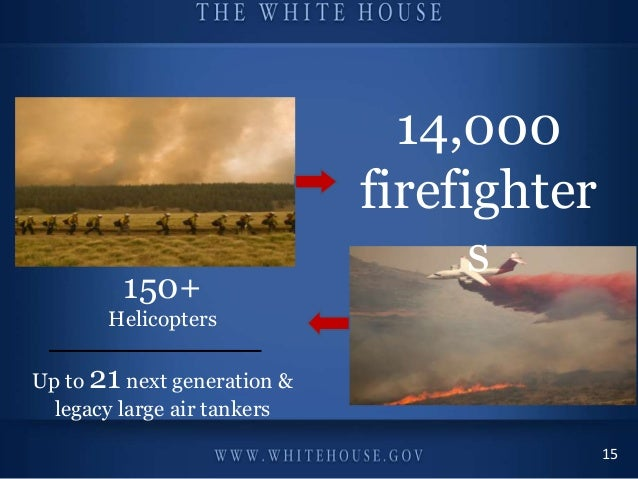 Champions of Change: Veterans Advancing Clean Energy and Climate Security September 24th, 2013 #WHChamps 14,000 firefighte...