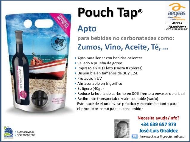 • Apto para llenar con bebidas calientes • Sellado a prueba de goteo • Impreso en HQ Flexo (Hasta 8 colores) • Disponible ...
