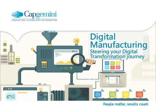 Digital Manufacturing Steering your Digital Transformation journey Author, Date