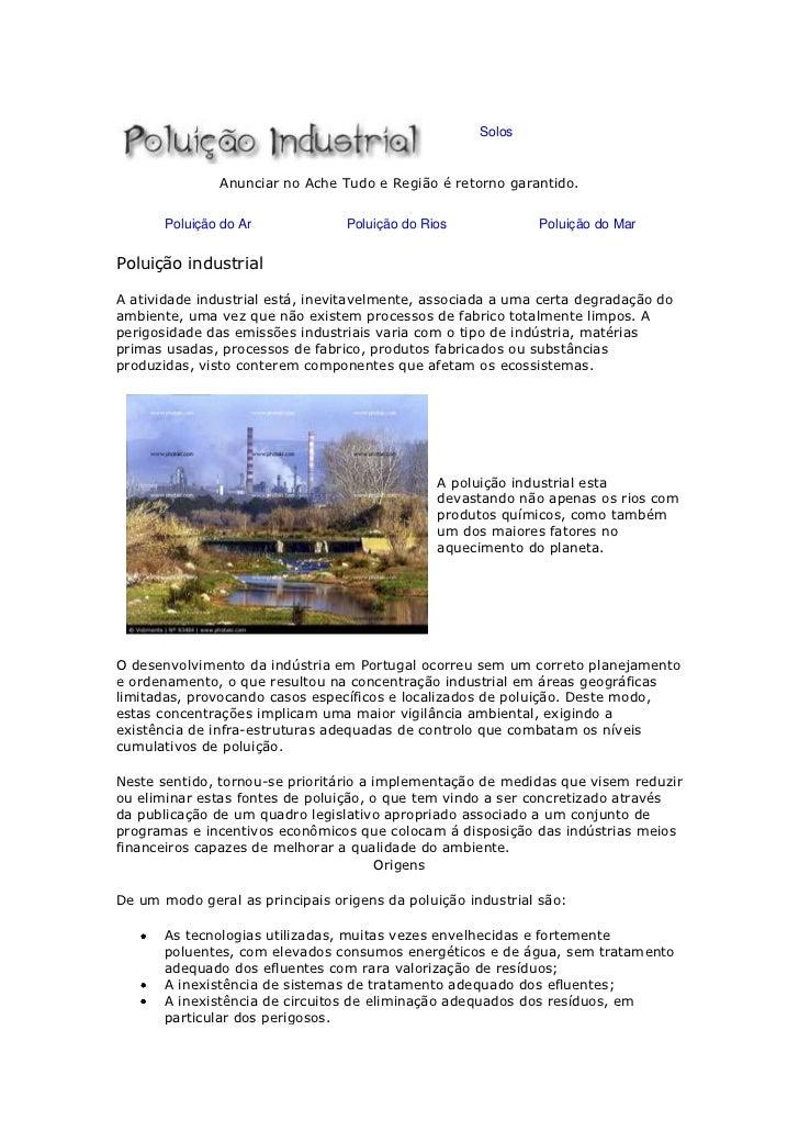 Poulição industrial