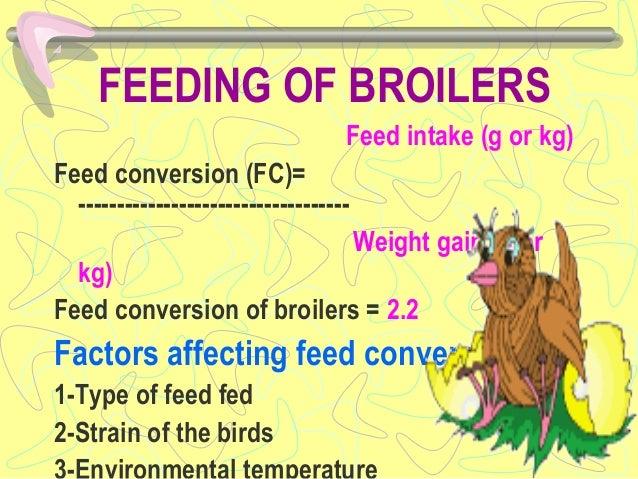 Poultry feeding