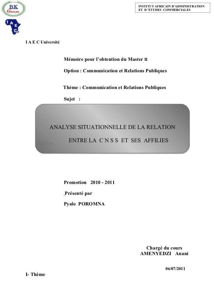 Pour examen 2011