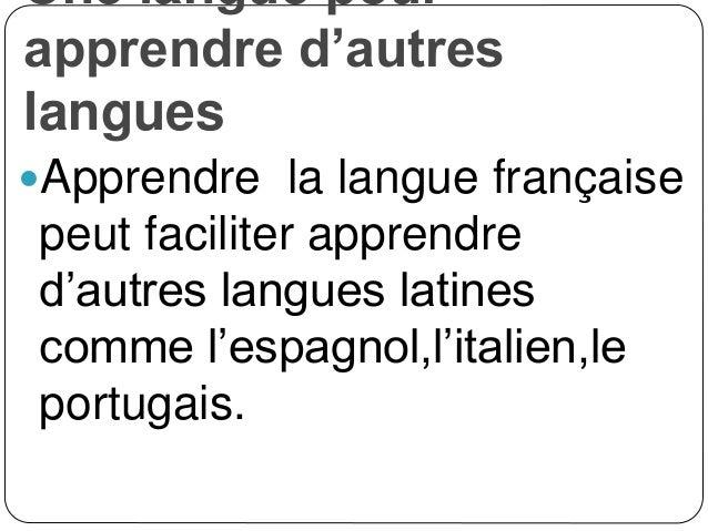 Apprends le français!!!