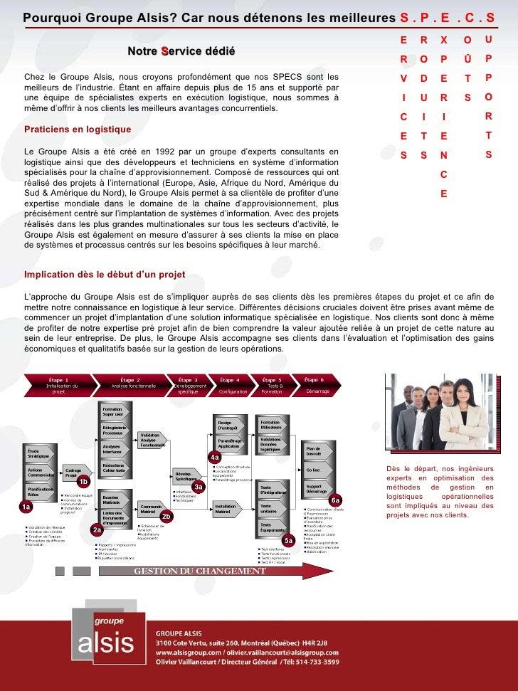 Pourquoi Groupe Alsis ? Slide 2