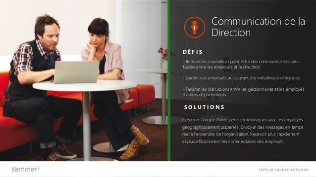 Ressources Humaines - Intégrer les nouveaux employés plus efficacement - Créer un sentiment de communauté entre les collèg...