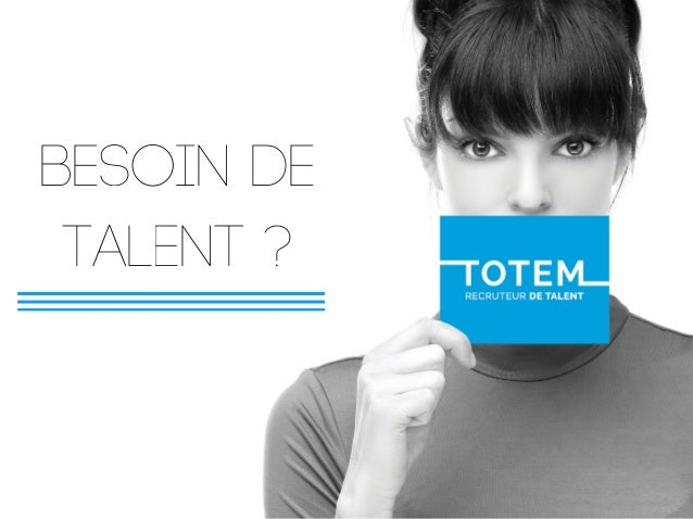 BEsoin de talent ?