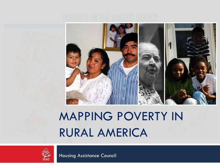 MAPPING POVERTY INRURAL AMERICAHousing Assistance Council