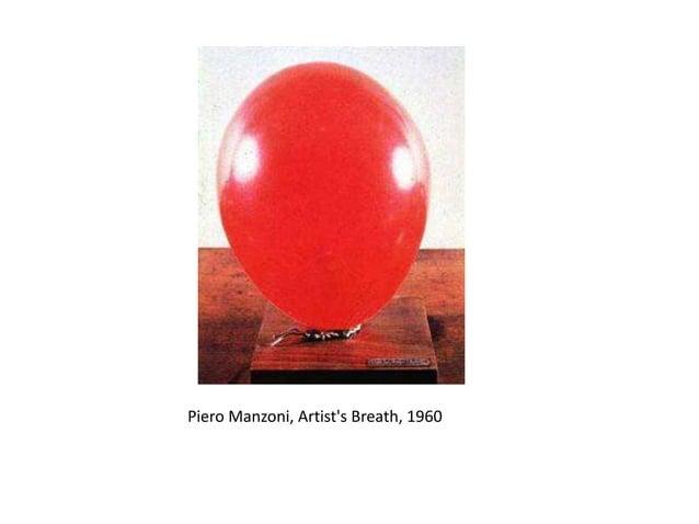 Piero Manzoni, huella digital del artista