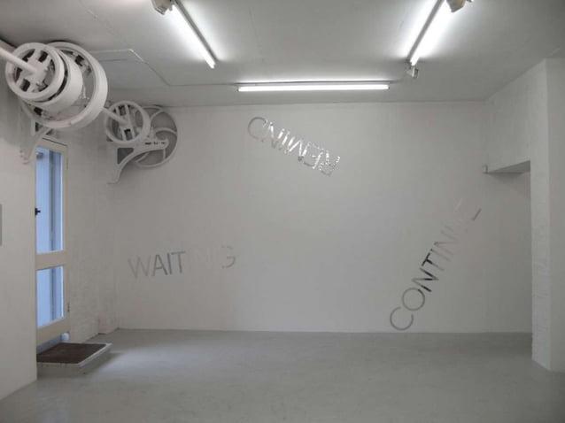 ON KAWARA• Pinta cuadros en los que sóloaparece, en blanco sobrefondo negro, la fecha derealización de la obra. Cadacuadro...