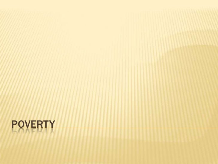 Poverty<br />