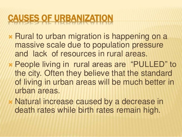 The Environmental Effects of Urbanization (408 Words)