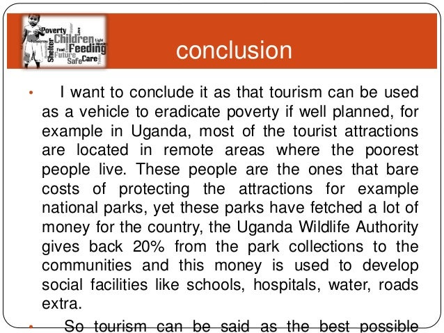 poverty alleviation and tourism 21 conclusion