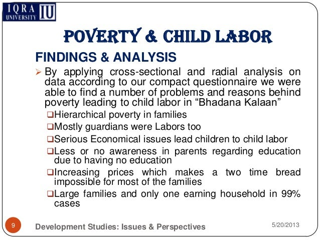 an analysis of the issues of poverty 10 determining the causes of poverty 12 dynamics of poverty 15 identifying  remedies 19 4 the poverty analysis: a stylised road map 22 making analysis.