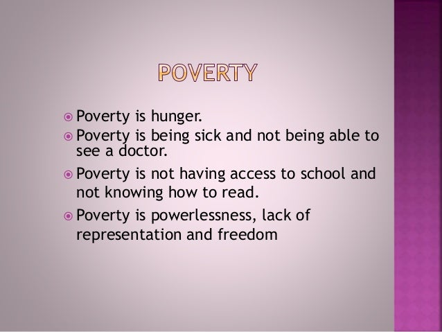 an essay on poverty and unemployment You have not saved any essays poverty is produced by circumstances, not individuals the expansion of international poverty and unemployment in the world over the.