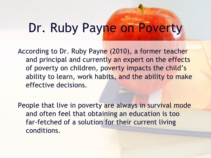 The Impacts of Poverty on Personality