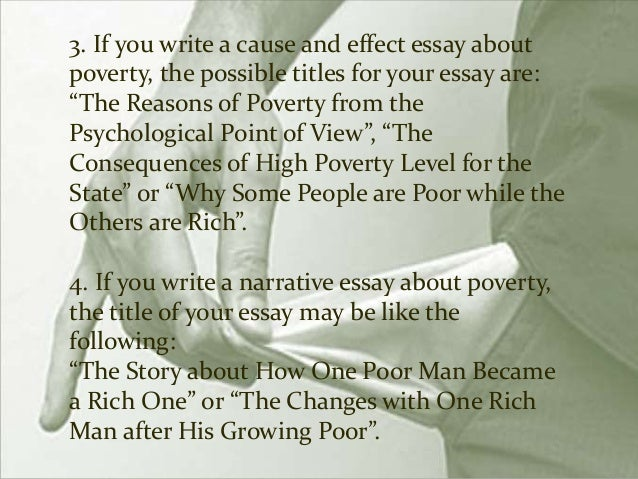poverty essay 8 1