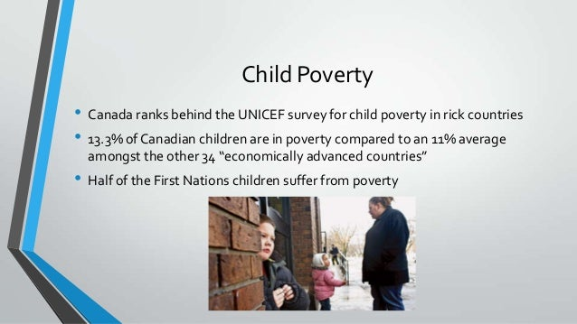 an evaluation of child poverty in canada Ontario government spending $13m on london poverty reduction programs  london third highest city in canadian child poverty rates:  canada targeted killings of.