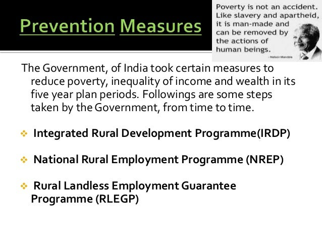 essay steps to reduce poverty in india Poverty in india speech essay article  and non-government bodies have taken  many steps to reduce the poverty and they have succeeded.