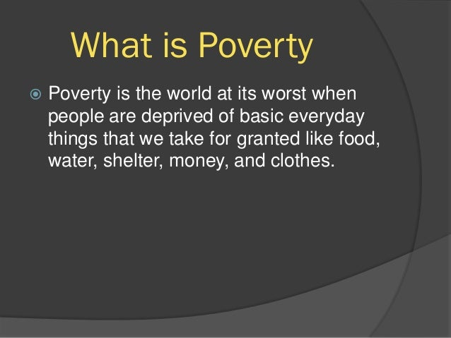 causes of poverty in the philippines essay