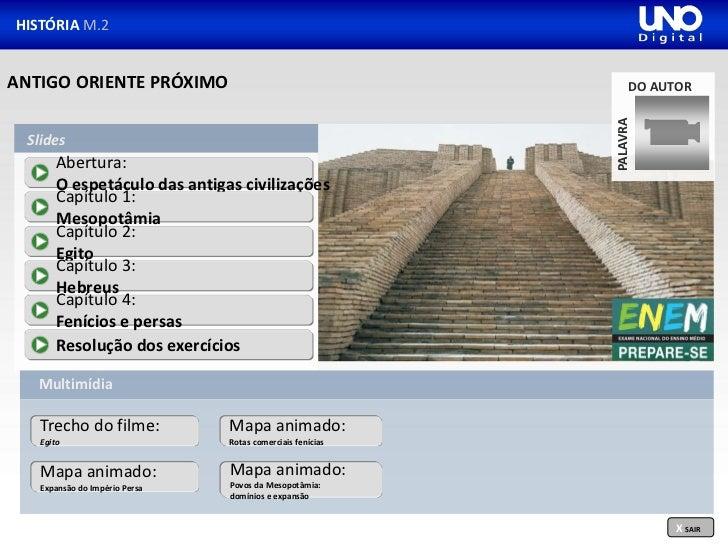HISTÓRIA M.2ANTIGO ORIENTE PRÓXIMO                                          DO AUTOR                                      ...