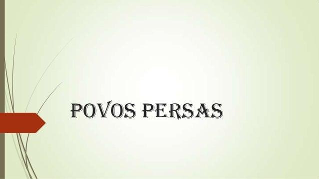 Povos Persas