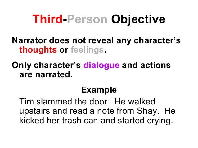how to write hypothesise in third person