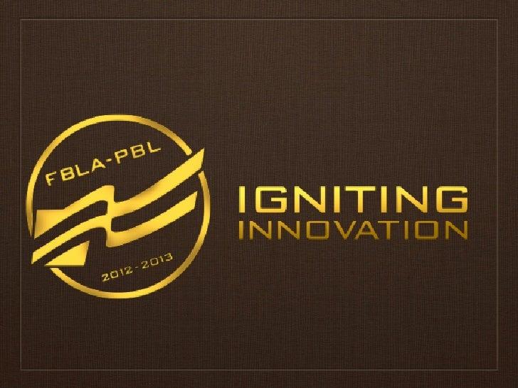 Program of Work Phi Beta Lambda, 2012-2013