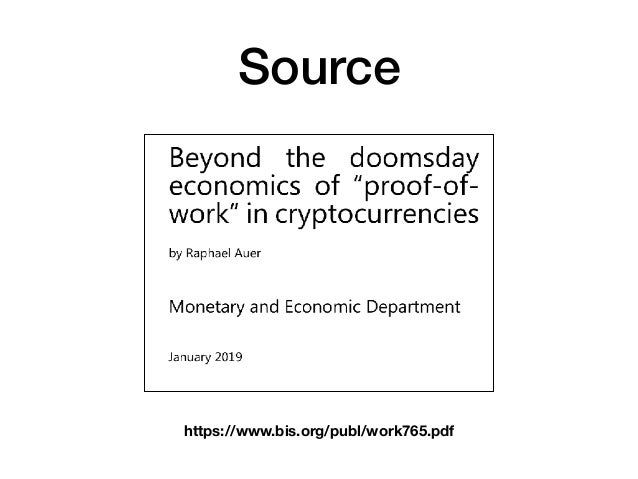 Bitcoin and Proof of Work Slide 2
