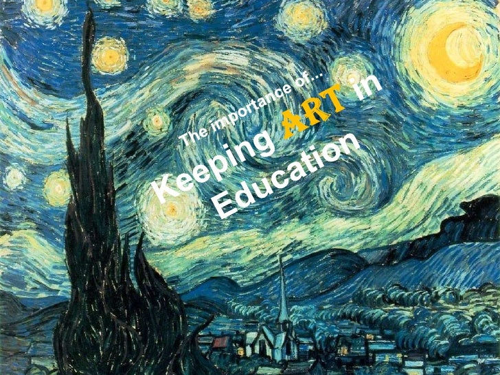 Concept And Meaning Of Art Education