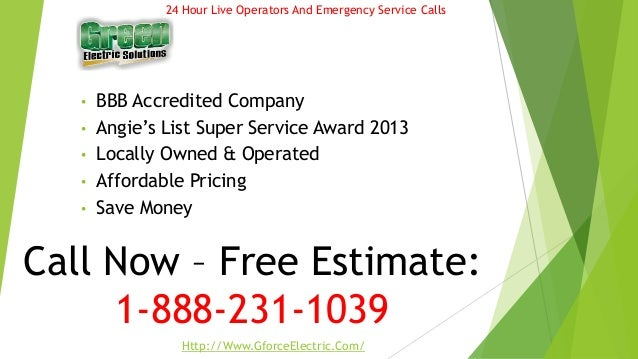 • BBB Accredited Company • Angie's List Super Service Award 2013 • Locally Owned & Operated • Affordable Pricing • Save Mo...