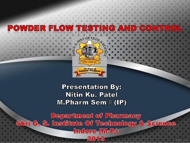Introduction:Powder flowability is the ability of a powder to flow in adesired manner in a specific piece of equipment.F...