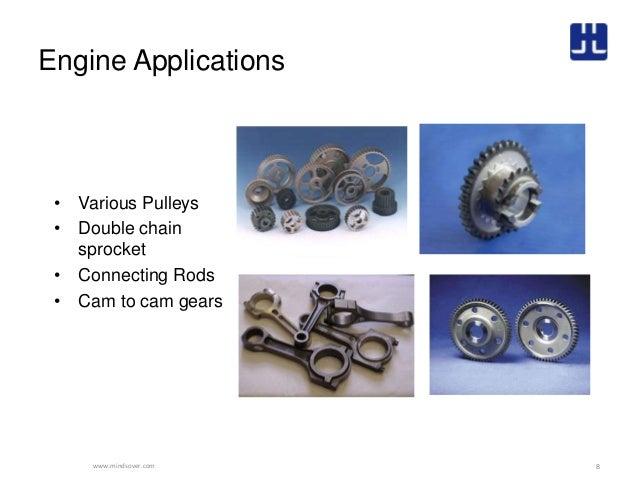 Powder Metal Applications