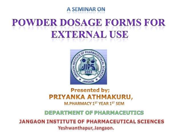 Powders ppt