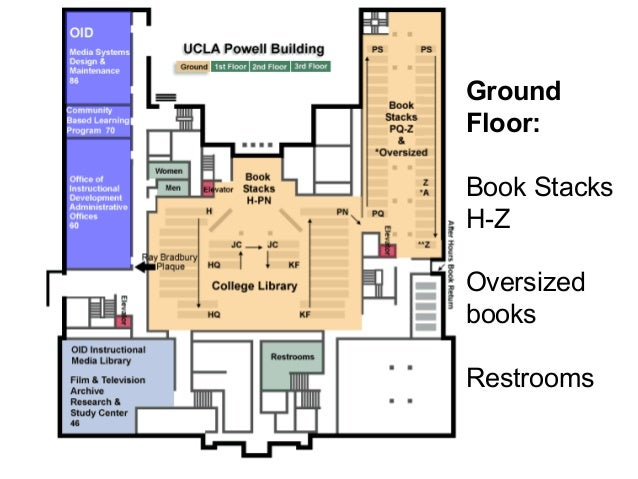 Powell Library Floor Plan