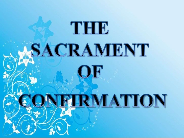 """1285 Baptism, the Eucharist, and the sacrament of Confirmation together constitute the """"sacraments of Christian initiatio..."""