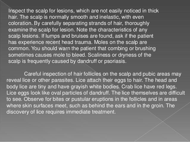 Assessment on Skin, Hair & Nails / HEENT