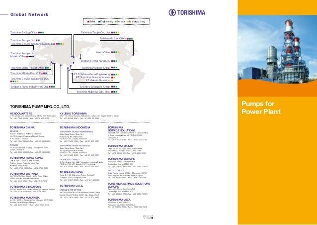 Global Network Engineering  Sales  Torishima Beijing Office  Service  Manufacturing  Torishima Tianjin Co., Ltd. Torishima...