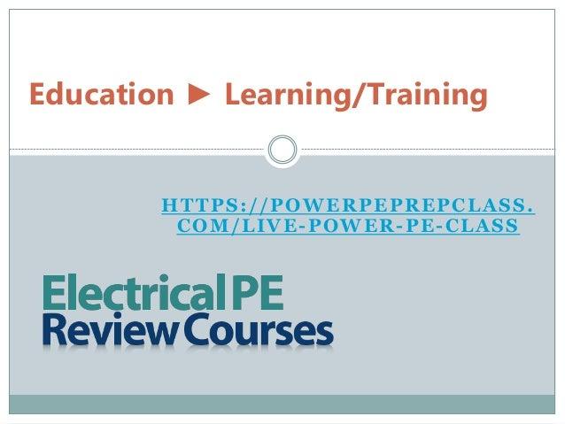 pe electrical engineering