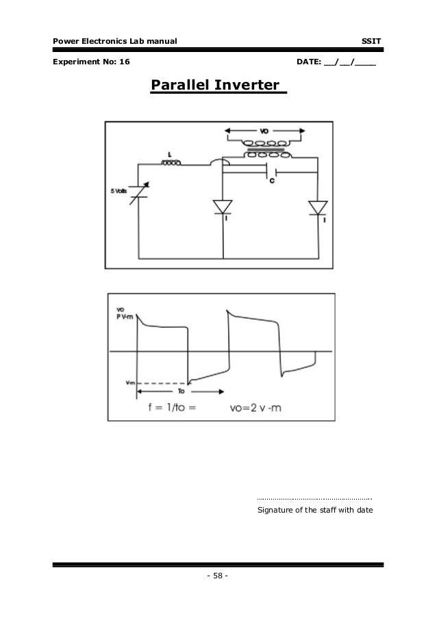 Power electronics-lab-manual