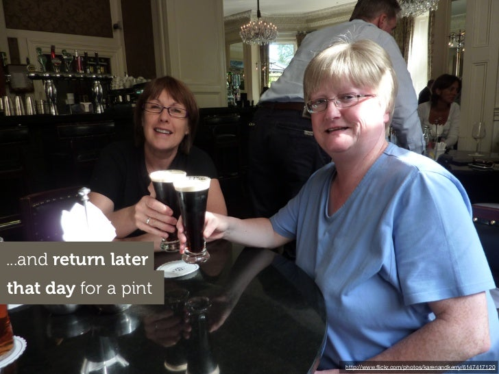 ...and return laterthat day for a pint                      http://www.flickr.com/photos/karenandkerry/6147417120