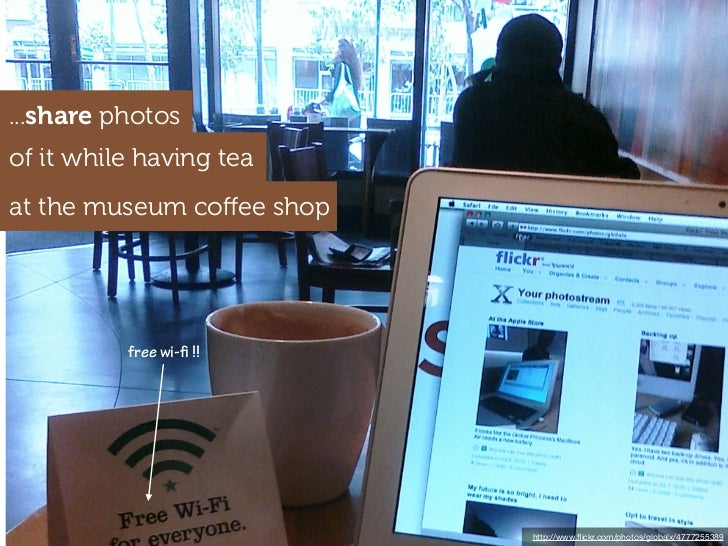 ...share photosof it while having teaat the museum coffee shop          free wi- !!                           http://www.fli...