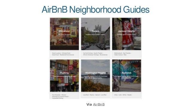 AirBnB Neighborhood Guides Via AirBnB