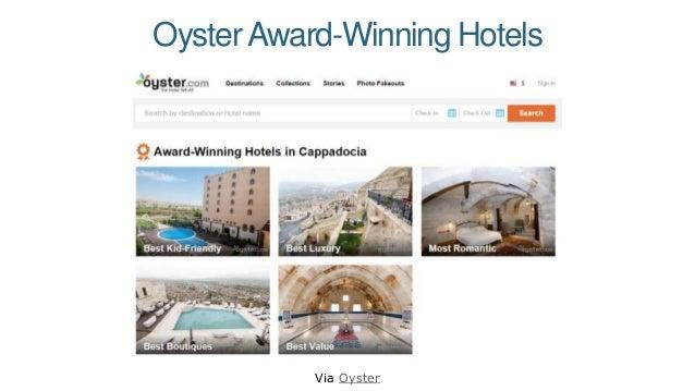 OysterAward-Winning Hotels Via Oyster