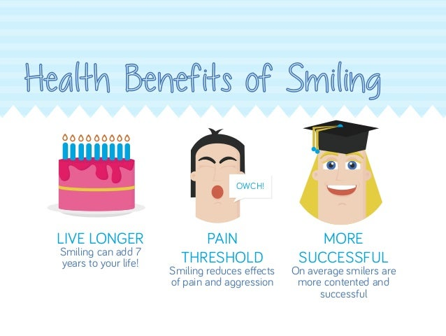 benefits of smiling at others