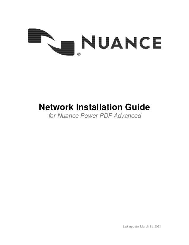 nuance power pdf protected mode