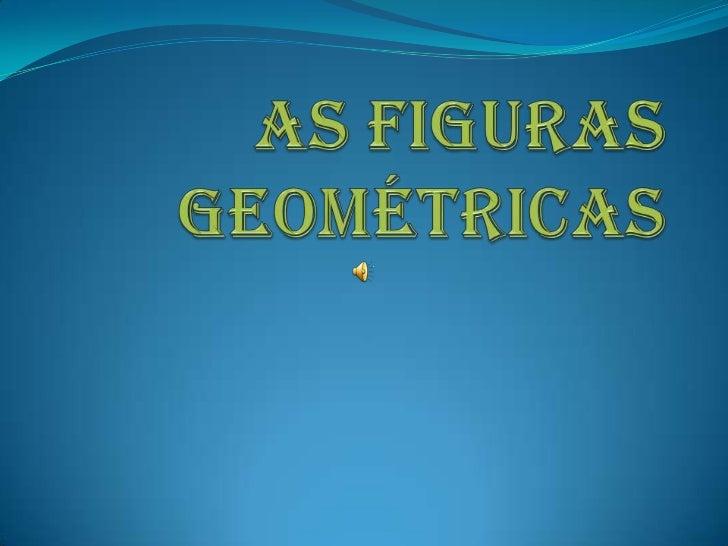 As figuras geométricas<br />