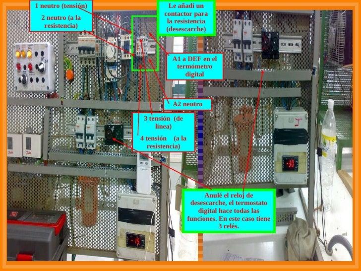 Curso de frigorista for Clases de termostatos